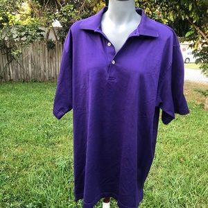 Peter Millar Golf Polo Shirt Size XL
